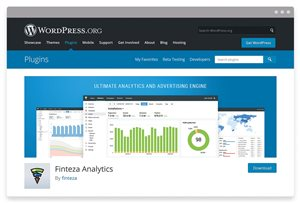 The free plugin for integrating Finteza web analytics with WordPress websites — download and try it