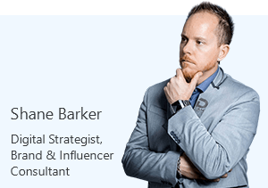 Shane Barker, Digital Strategist, Brand & Influencer Consultant